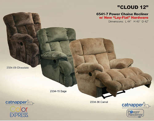 Interested In Sleeping On Cloud 9 Look No Further As This Recliner Can Do Better The 12 Power Chaise From Catnapper Is Available