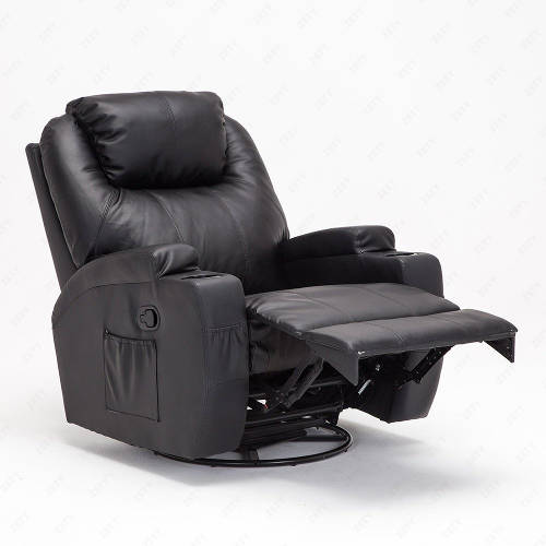 although the is not clear on what material they have used for the frame the overall of this recliner is sturdy