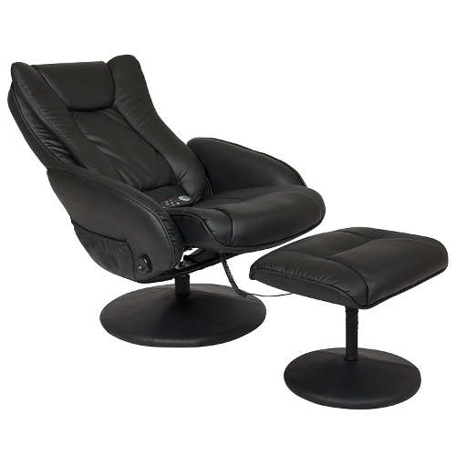 BCP Leather Massage Recliner - Ottoman Furniture + Remote  sc 1 st  Laywayback & Recliners Under $200: 7 Best Selling High Quality Affordable Chairs! islam-shia.org