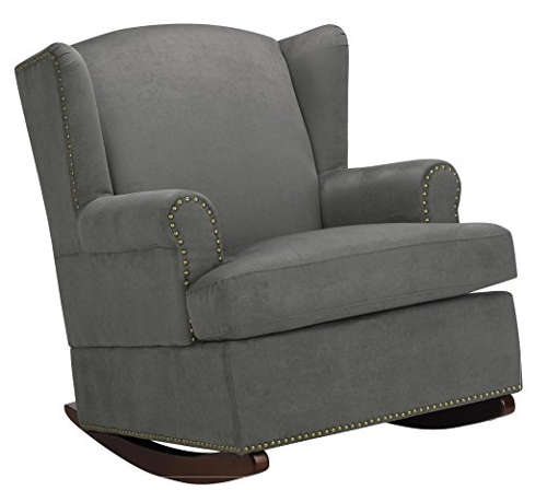 Next on our list is a rocker from Baby Relax that has nail head features on a modern wingback chair. Features of the aforementioned include the following  sc 1 st  Laywayback & Best Recliners for Nursery: Top 10 Chairs for Babies \u0026 Pregnancy islam-shia.org