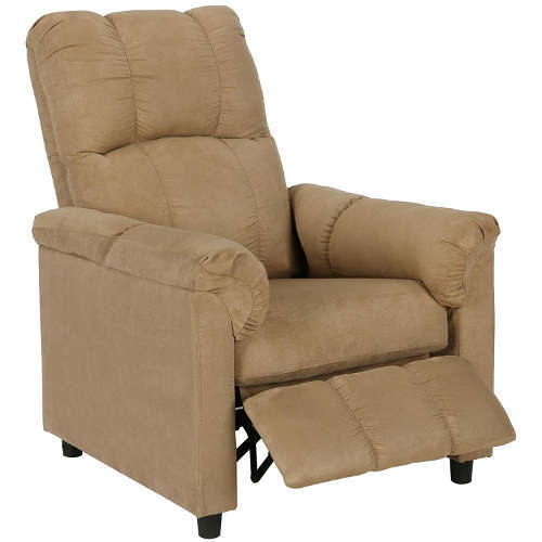 Dorel Living Slim Recliner Beige  sc 1 st  Laywayback & Recliners Under $200: 7 Best Selling High Quality Affordable Chairs! islam-shia.org