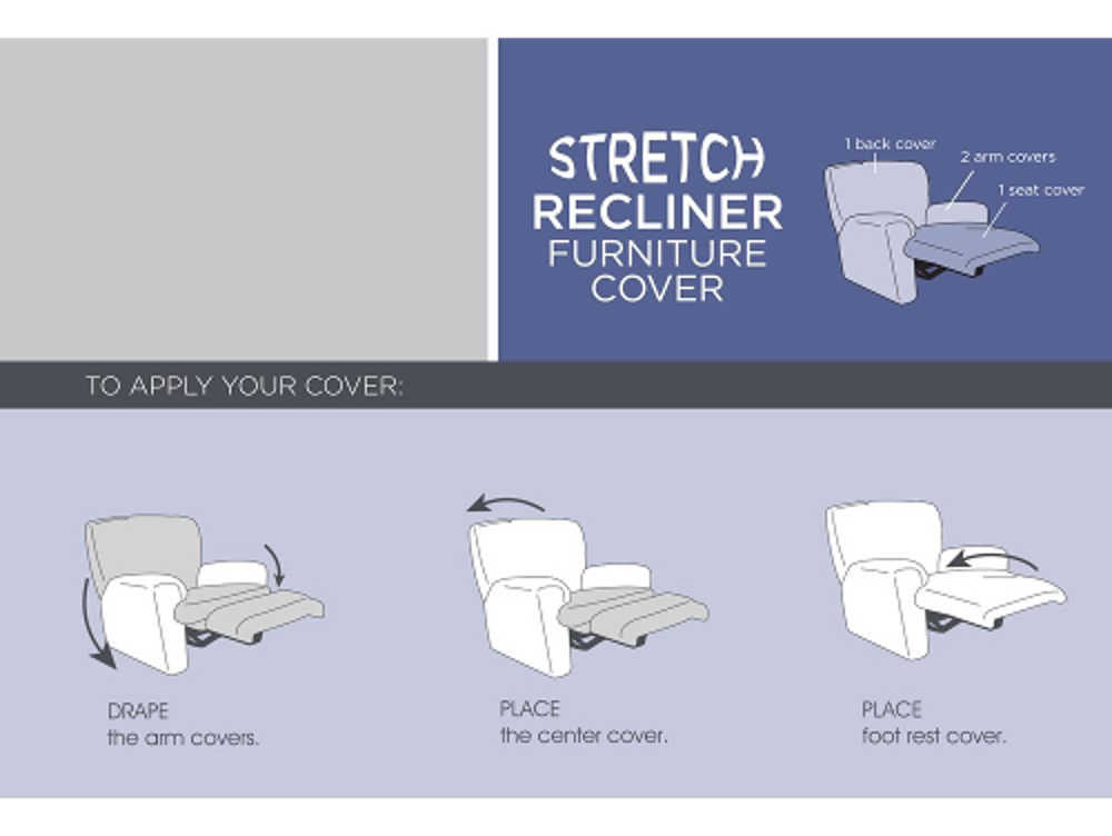 The Maytex Stretch Recliner Slipcover is one of the easiest slipcovers to apply and provides practical benefits. One of the main benefits comes from the ...  sc 1 st  Laywayback & Slipcovers For Recliners: Best 10 Pet Waterproof u0026 Ottoman ... islam-shia.org