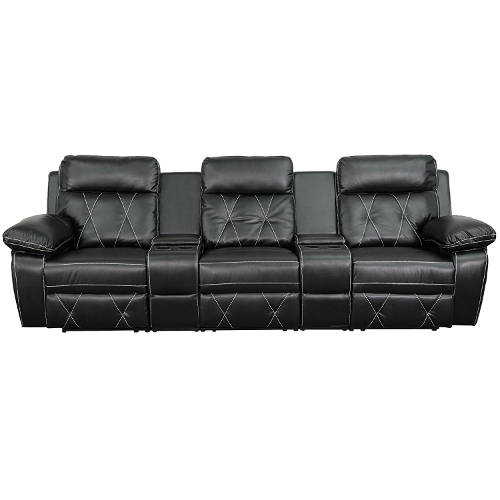 Reel Comfort Series 3-Seat Reclining Theater Seating Unit  sc 1 st  Laywayback & Best Recliner Sofas u2013 #1 Buyers Guide for Top 10 Couches islam-shia.org