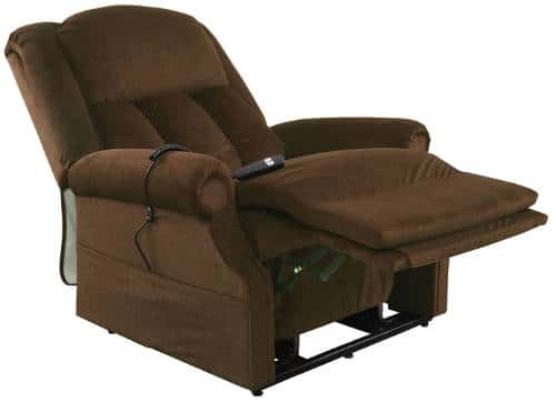 Recliners for big and tall people best 8 mega sized for Big and tall chaise lounge