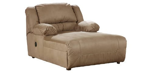 Recliners for big and tall people best 8 mega sized for Ashley hogan chaise