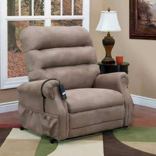 Med-Lift PowerLift 3-Way Recliner - 600 lbs. Capacity u2013 High-Density Flex Foam Seating - X-Heavy Duty Lift Mechanism Reclining Hardware D-Arc Springs ... & Recliners for Big and Tall People: Best 8 Chairs in Size and Comfort! islam-shia.org