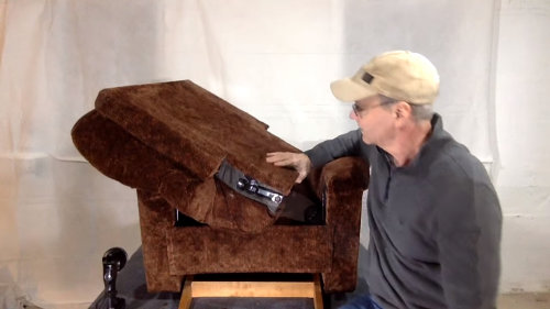 how to remove the back of a recliner step by step guide