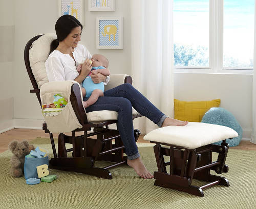 Stork Craft Hoop Glider And Ottoman Set Review 2018